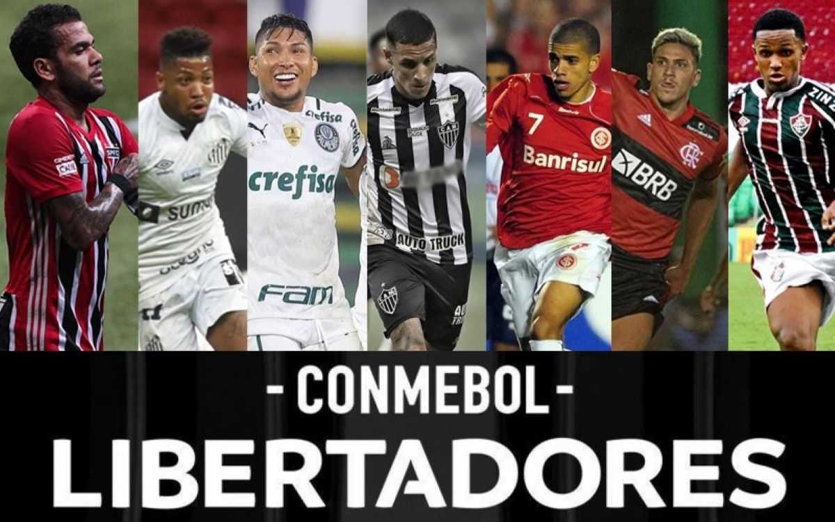 Libertadores: O caminho pela frente dos brasileiros no mata-mata