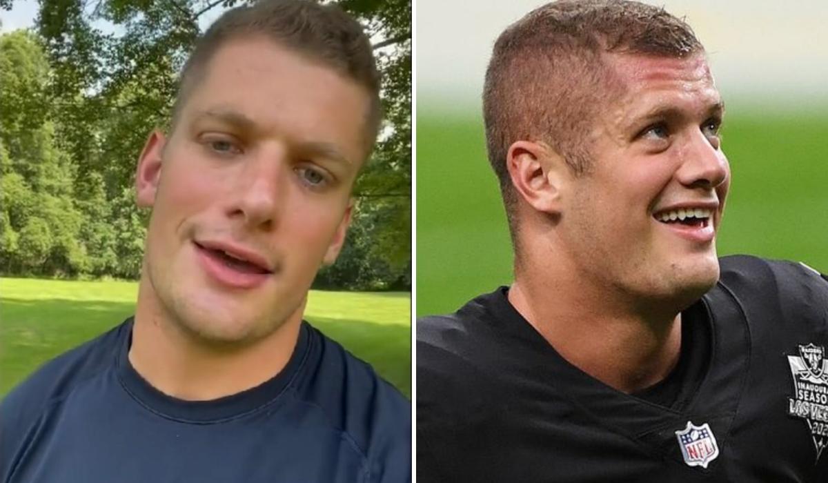 Carl Nassib se torna primeiro jogador  da NFL a se declarar gay