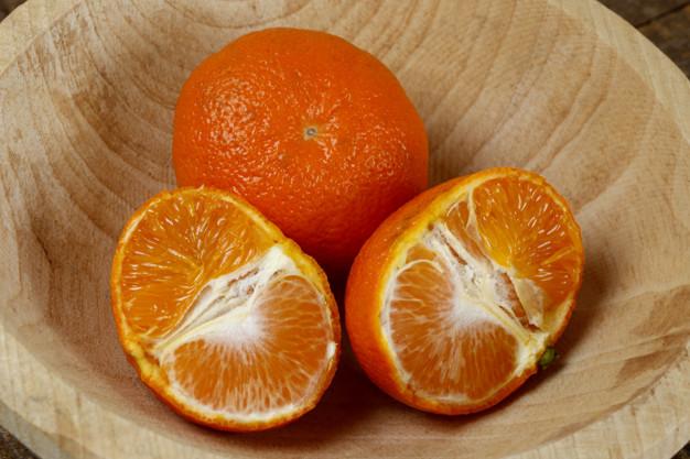 Tangerinas são frutas ricas em vitamina C, que contribuem com a melhora do intestino.
