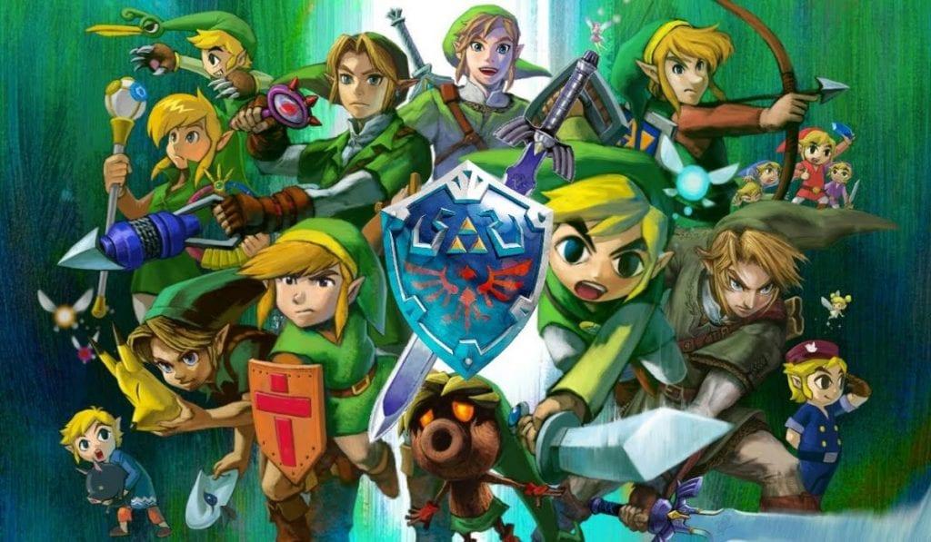 The Legend of Zelda, jogos de Nintendo