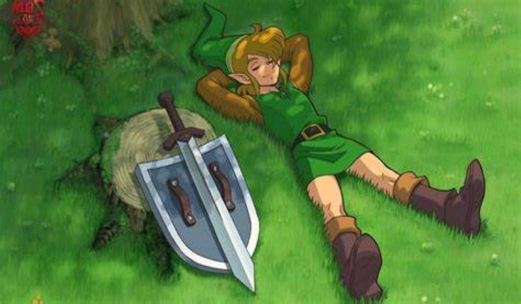 Link, herói de Zelda