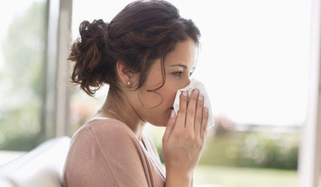 alergias e clima seco
