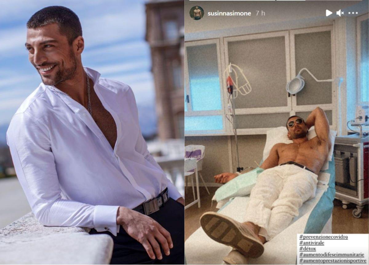 Ator de Nacho em '365 Dni' posta foto em clínica e gera polêmica