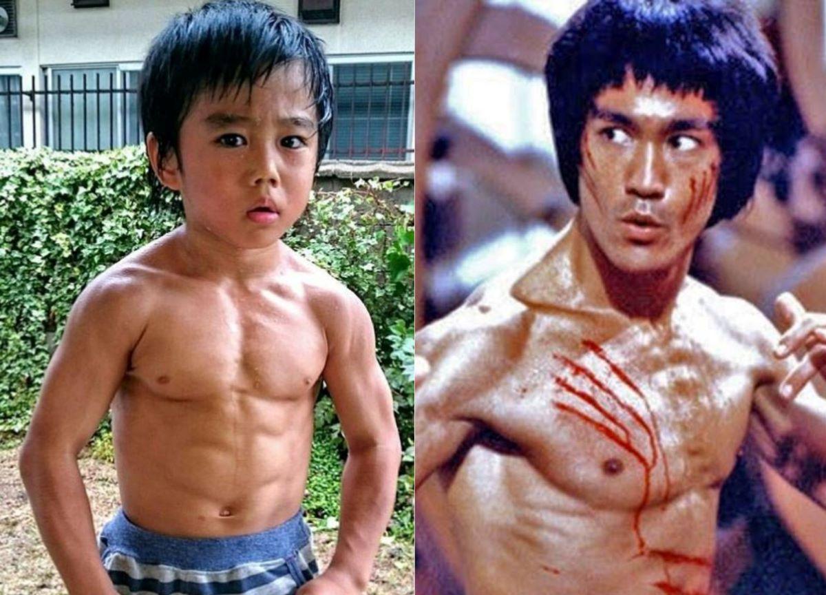 """""""Mini Bruce Lee"""" é sensação das artes maciais no Instagram"""