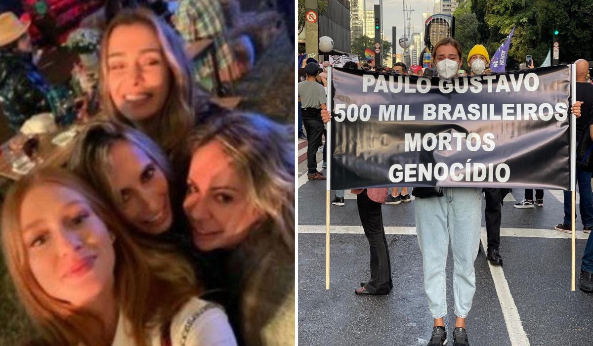 Mônica Martelli é flagrada em aglomeração, após criticar governo