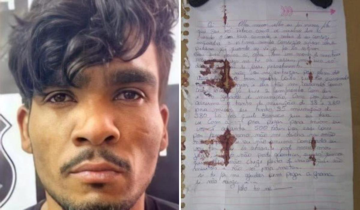Lázaro Barbosa: carta deixada pelo assassino é encontrada