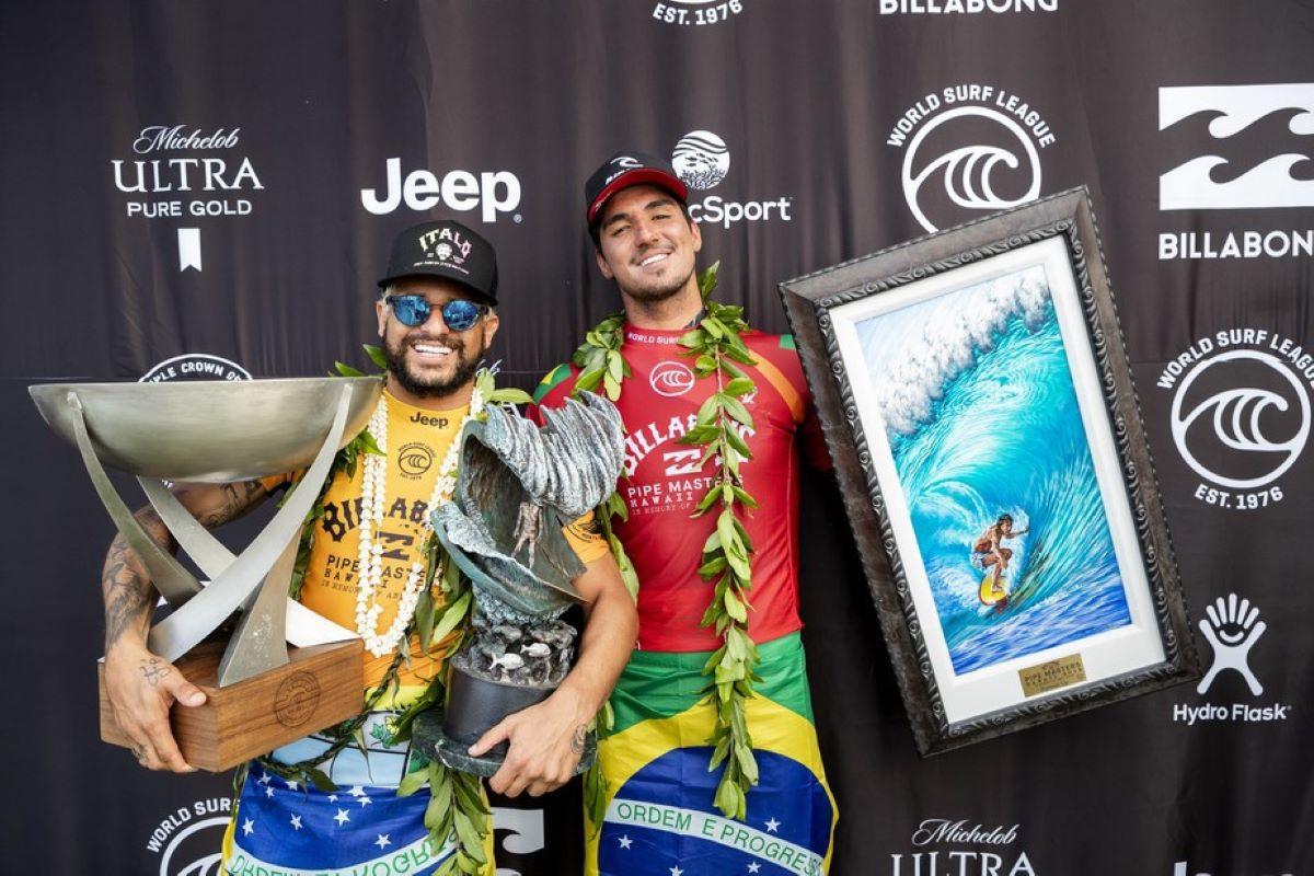 Olimpíadas: os surfistas que irão representar o Brasil em Tóquio