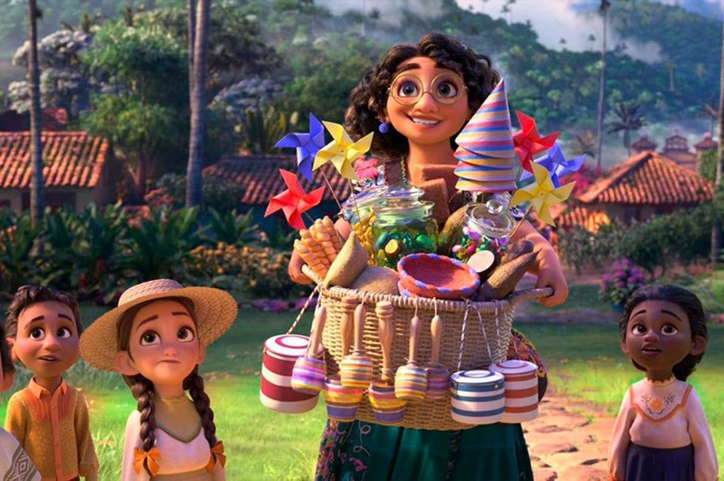 Novo desenho da Disney, Encanto, se passa na Colômbia e combina cores com magia.