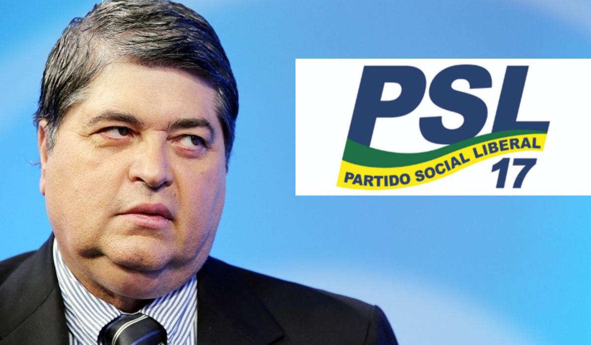 Datena é pré-candidato à presidência da república pelo PSL