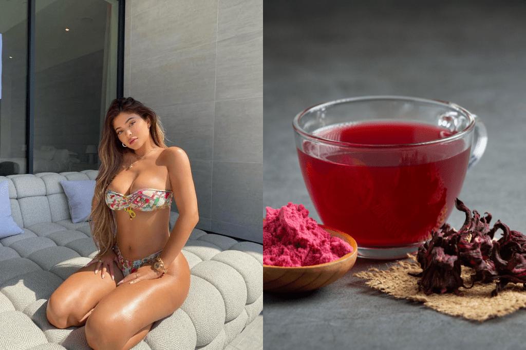 Kylie Jenner investiu na dieta Teatox para emagrecer mais de 10kg após gravidez.