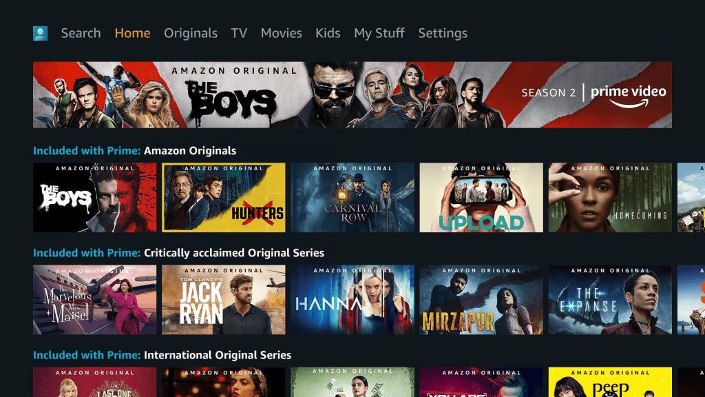 streaming plataformas amazon