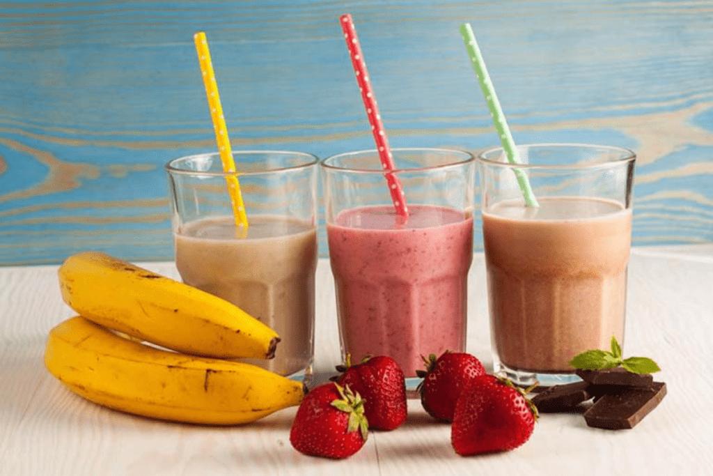 Shakes caseiros são uma opção para quem deseja emagrecer rápido e de forma saudável.