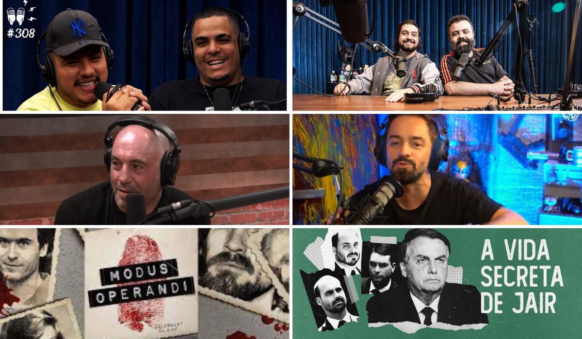 Flow e outros podcasts que estão bombando no YouTube