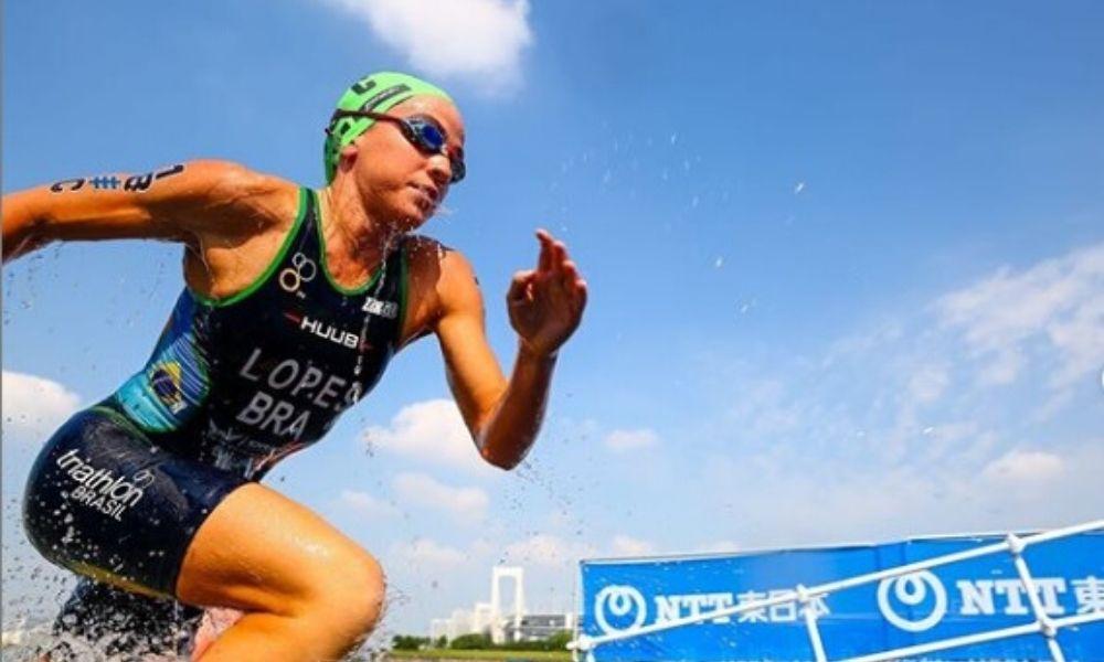 Vittoria Lopes competirá nas Olimpíadas 2021 na modalidade triatlo.