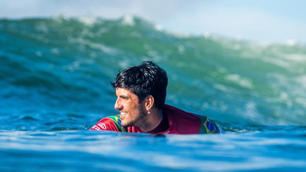 O surfista Gabriel Medina é um dos destaques nos Jogos Olimpícos.