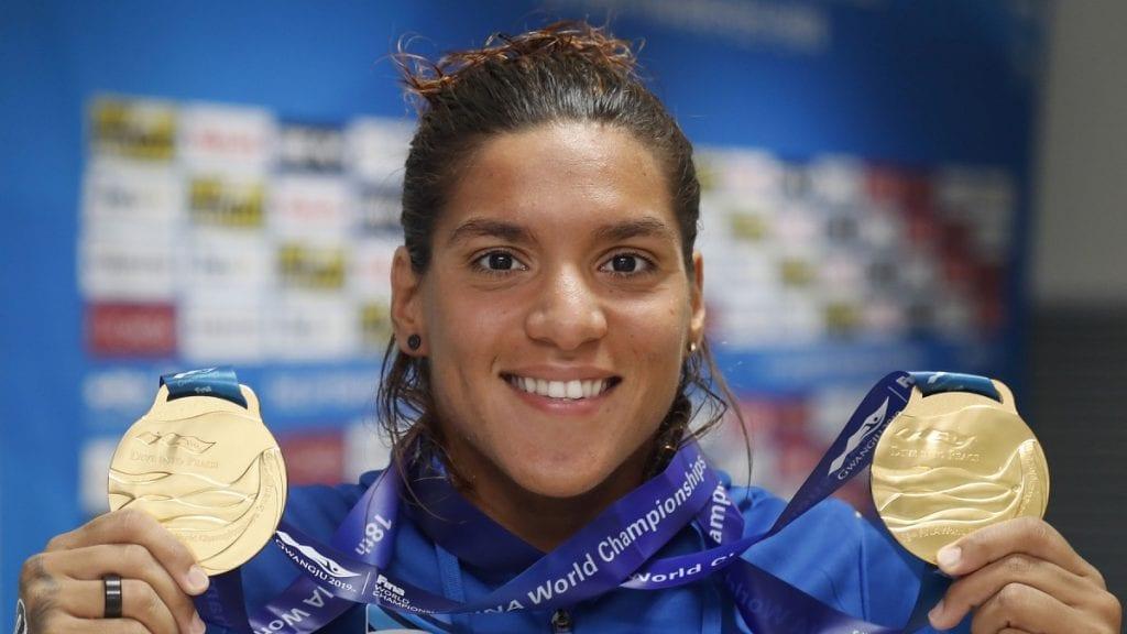 Ana Marcela é uma das representantes brasileiras nas Olimpíadas de Tóquio.