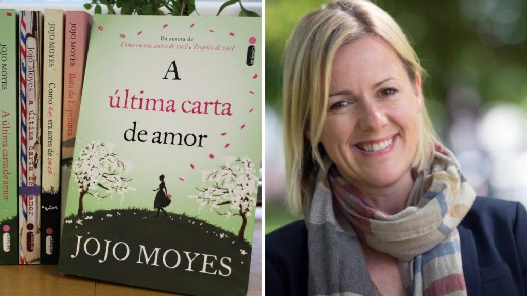 A última carta de amor é um dos sucessos da autora Jojo Moyes.