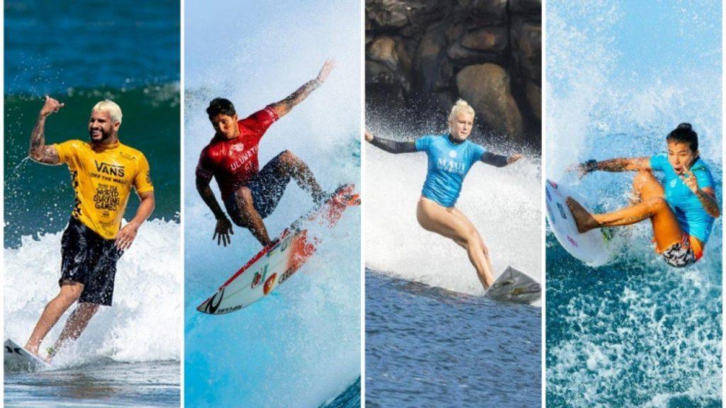 O surfe nas Olimpíadas 2021 possui atletas renomados.