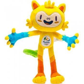 Vinicius é o mascote dos Jogos Olímpicos no Rio.