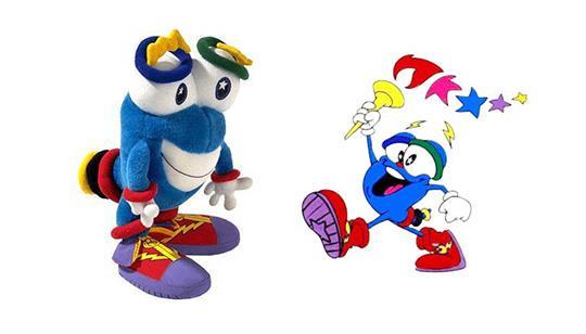 Izzy, um dos mascotes olímpicos, não agradou ao público.