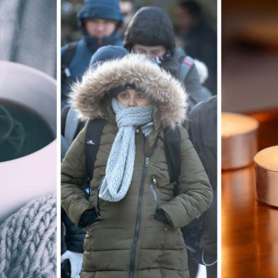 como se esquentar no frio