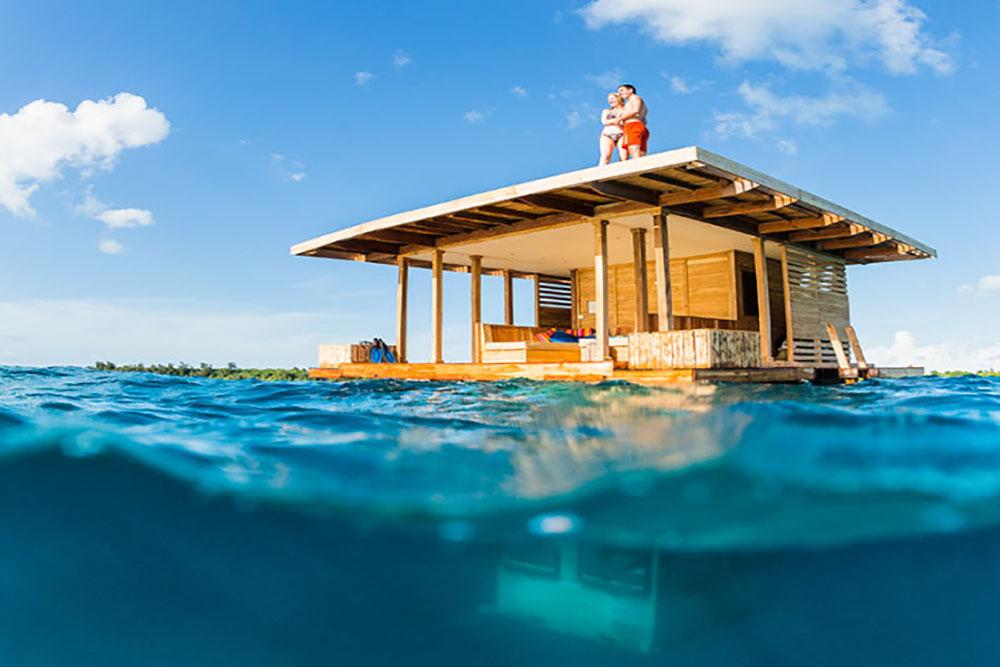 The Manta Resort é uma das maravilhas da Tânsania.