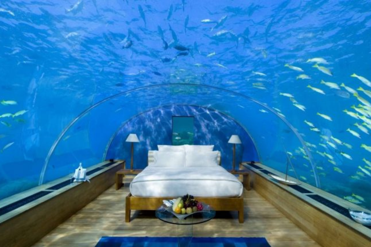 5 hotéis que ficam embaixo do mar para você conferir