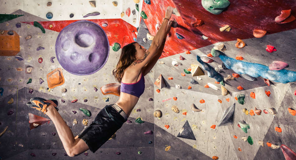 A escalada é uma das novas modalidades nas Olimpíadas 2021.