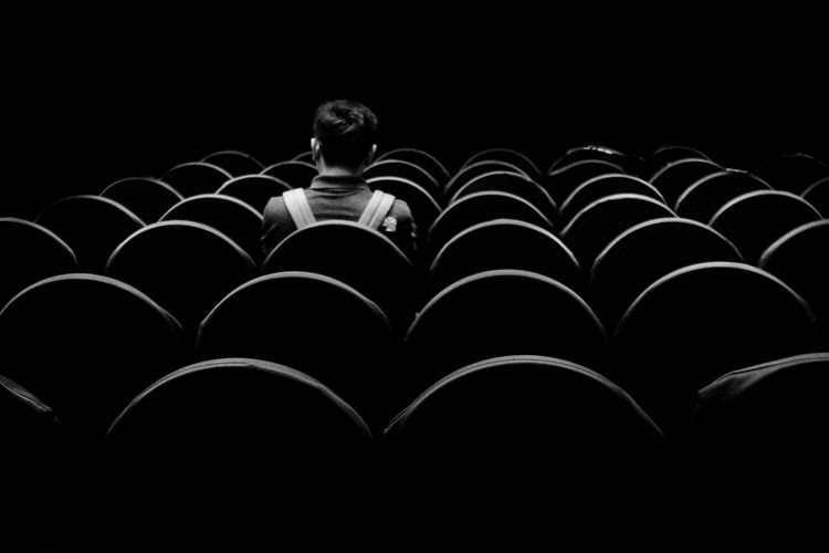 cinema preto e branco