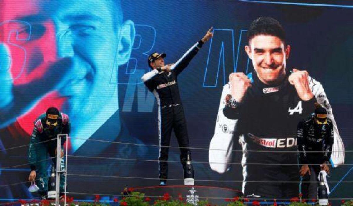 GP da Hungria: em corrida caótica, Esteban Ocon vence Fórmula 1