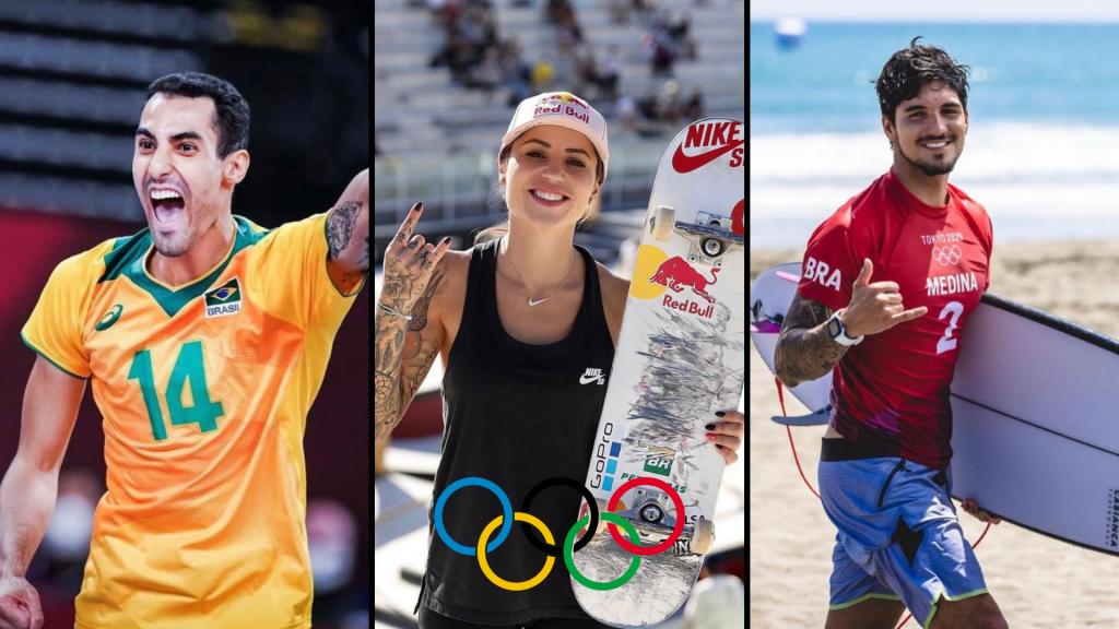 atletas olimpíadas instagram