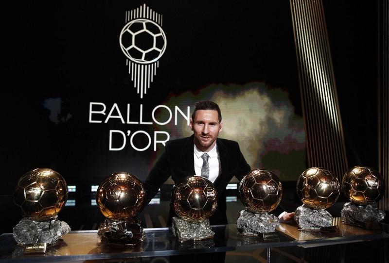 Messi melhor jogador do mundo