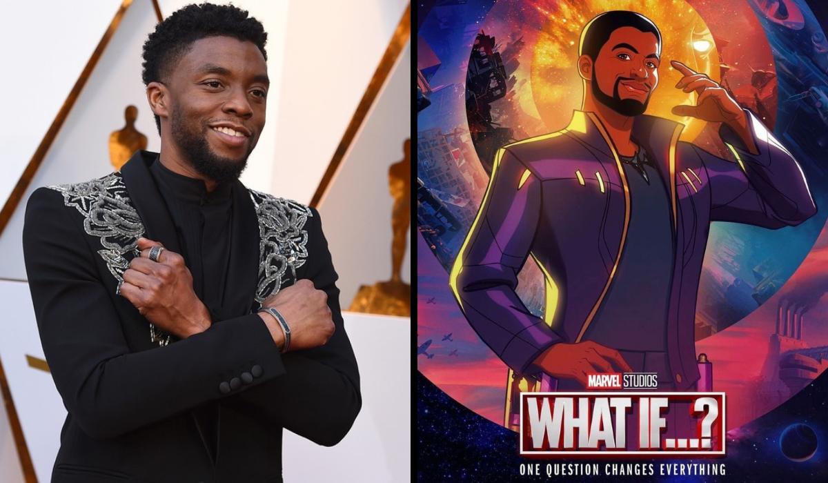 Chadwick Boseman emociona os fãs em 'What If…?', nova série da Marvel