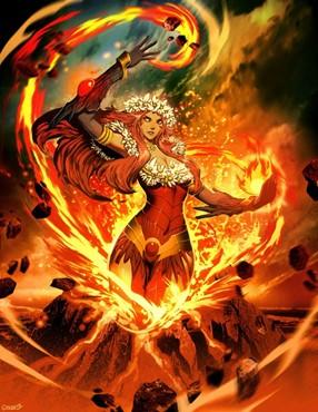 Pele é a deusa do vulcões na cultura havaiana.