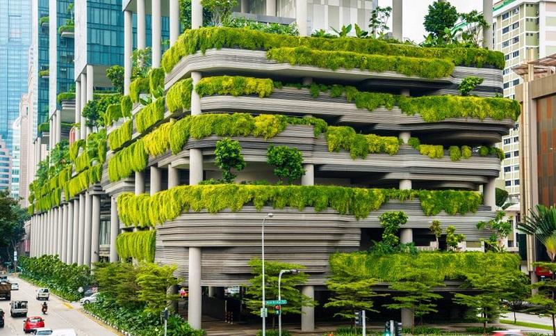 A cidade é conhecida por ser uma das mais sustentáveis do mundo.