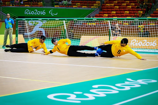 Goalball estará nas Paralimpíadas 2021.