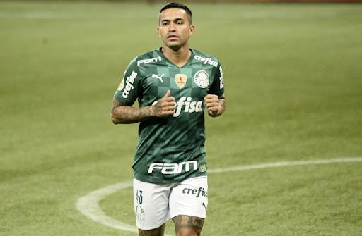 Dudu, do Palmeiras, um dos astros do time.