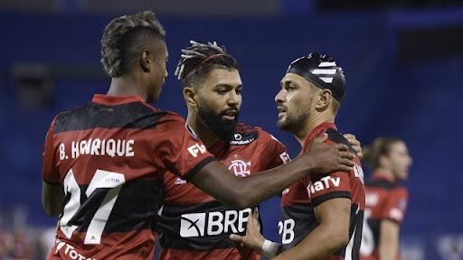 A campanha da fase de grupos do Flamengo está entre as melhores da competição.