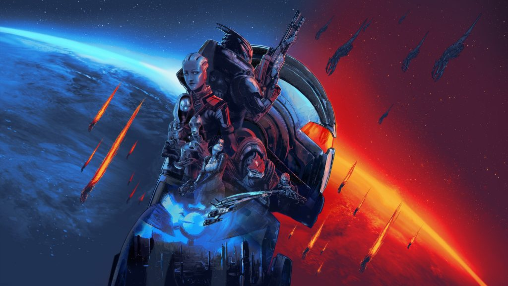 O Mass Effect Legendary Edition reúne a trilogia Mass Effect em apenas um jogo.