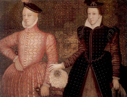 Mary Stuart, da Disnastia Stuart, e Lord Darnley.
