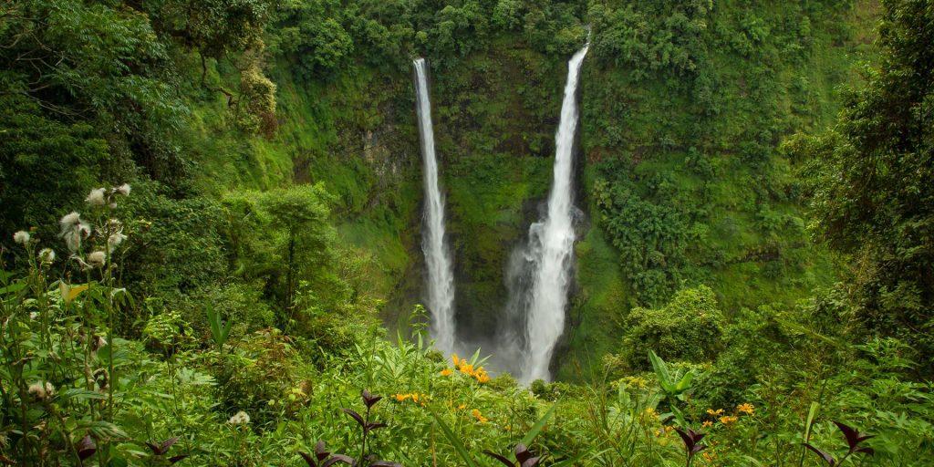 Bolaven Plateau, em Laos, é conhecido por suas cachoeiras.