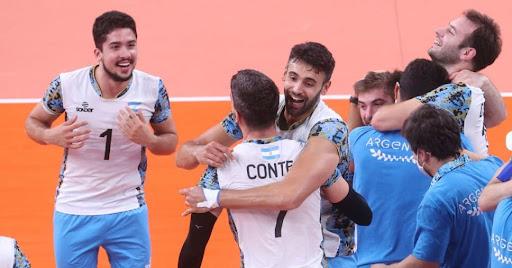 A equipe de vôlei masculino da Argentina poderá enfrentar o Brasil no Sul-Americano.