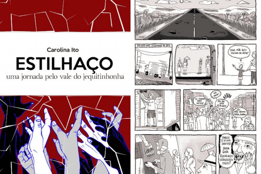 A partir do Jornalismo em Quadrinhos, Carolina Ito narra a vida de moradores do Vale do Jequitinhonha.