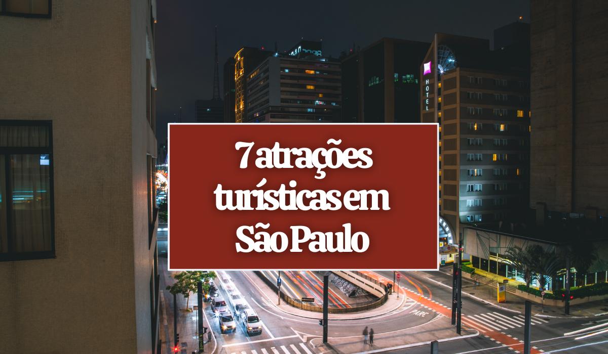 7 lugares para visitar durante turismo em São Paulo