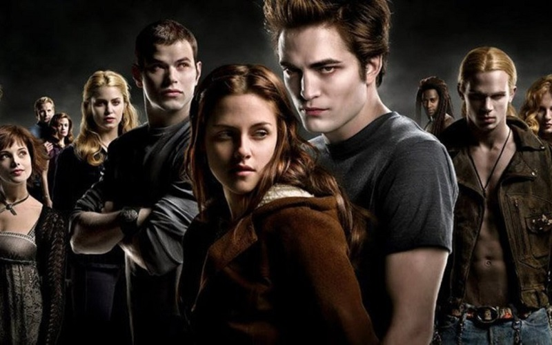 Crepúsculo, um dos filmes de vampiros mais populares entre os jovens.