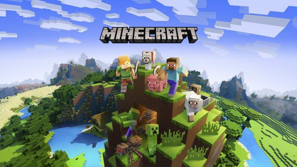 Minecraft, um dos jogos mais populares do mundo.