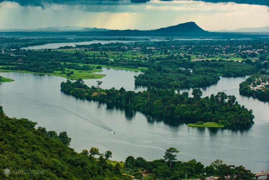 Gana, uma país repleto de história e belezas naturais.