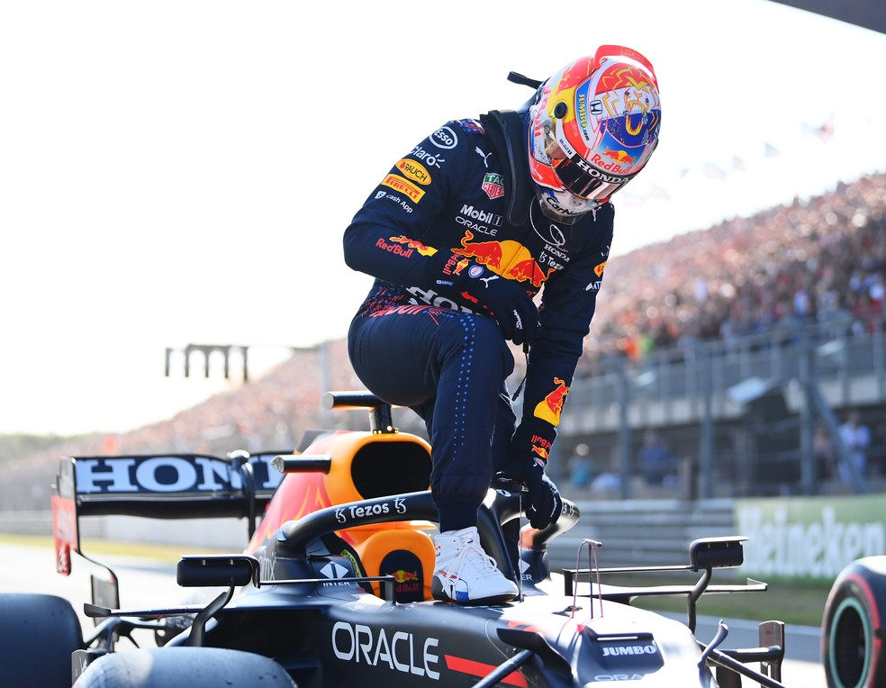 Max Verstappen foi o pole position na Holanda.