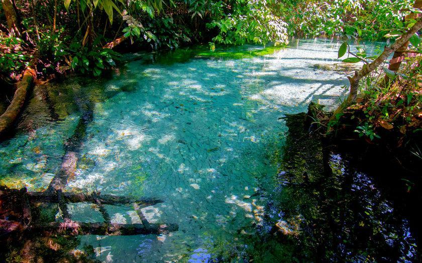 A Cachoeira da Formiga está entre as cachoeiras brasileira mais bonitas.