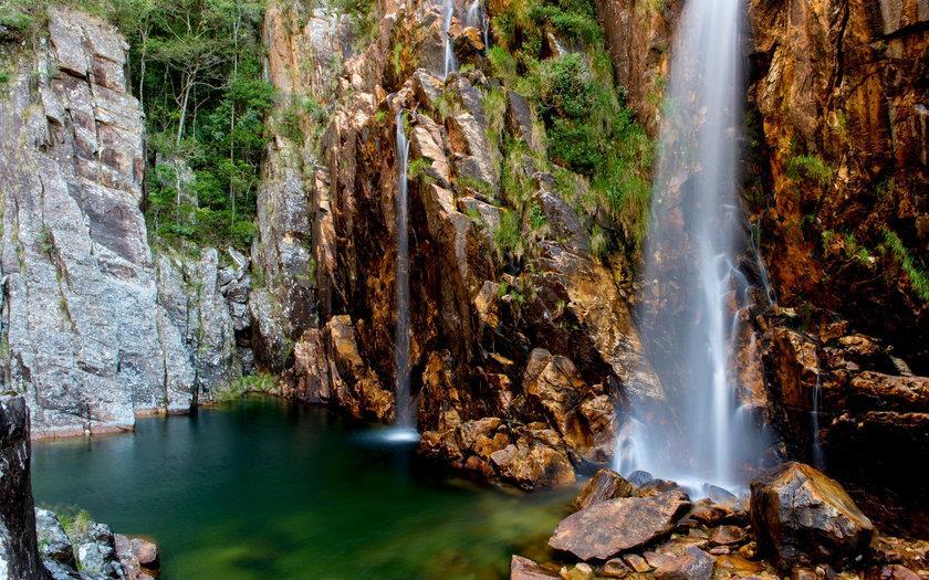 Cachoeira da Parida recebe esse nome devido a uma história local.